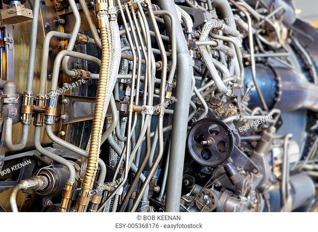 Jet engine internal