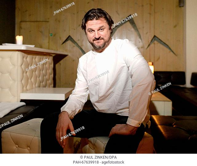 Mladen Solomun, DJ and producer for electronic and house music, poses in Berlin,Germany, 09 April 2016. House and techno artists like Mladen Solomun are...