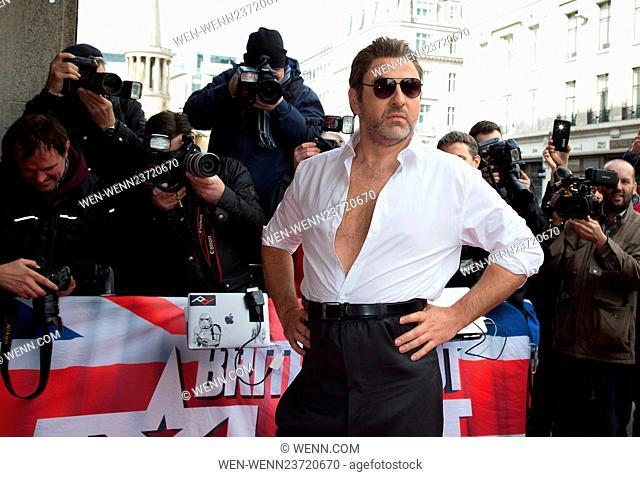 Britain's Got Talent photocall held at the Regent Street Cinema - Arrivals Featuring: David Walliams Where: London, United Kingdom When: 07 Apr 2016 Credit:...