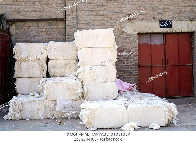 Raw cotton , cotton mill Multan Pakistan