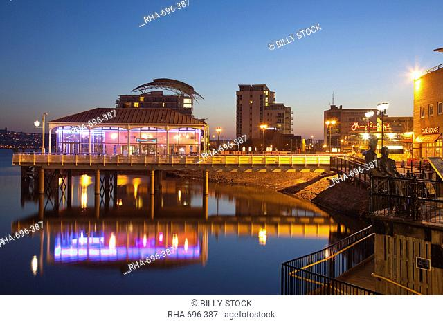 Cardiff Bay, South Wales, Wales, United Kingdom, Europe