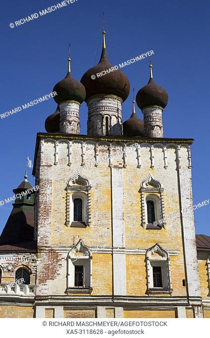 Gate of the Sretensky Church, Boris and Gleb Monastery, Borisoglebsky, Golden Ring, Yaroslavl Oblast, Russia