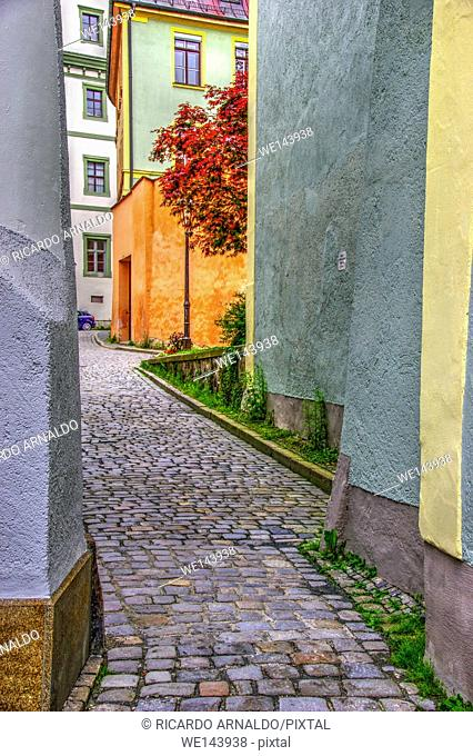 Passau alley, Germany