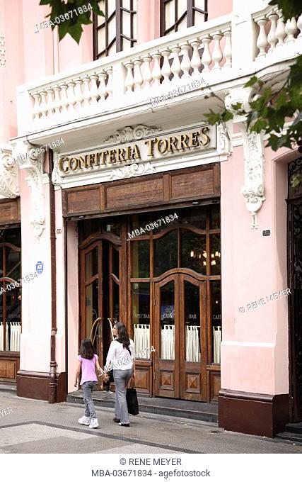 Chile, Santiago, Confiteria Torres