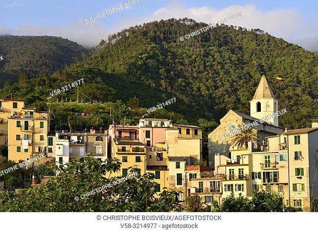Italy, Liguria, Cinque Terre National Park, World Heritage Site, Corniglia