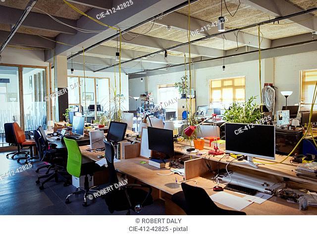 Creative, open plan office