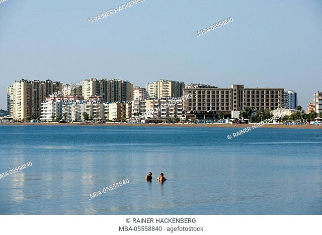 Turkey, province of Mersin (Icel), Silifke, beach of Atakent / Susanoglu
