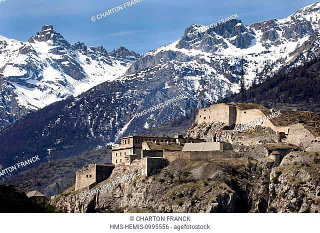 France, Hautes Alpes, Briancon, Fort des Salettes, Vauban site listed as World Heritage by UNESCO