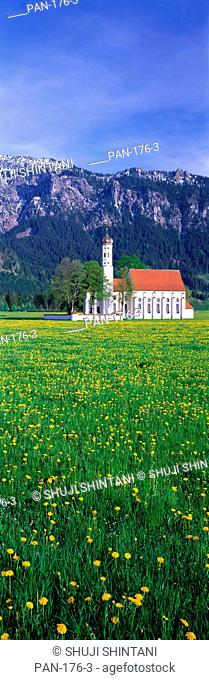 Country Church, near Füssen, Germany