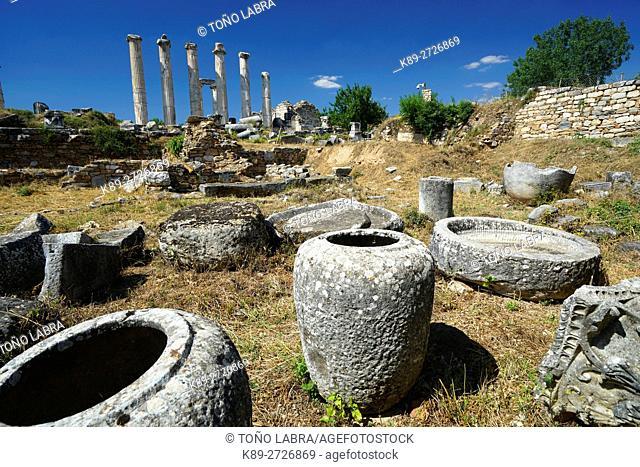 Sculptor's Workshop. Aphrodisias. Ancient Greece. Asia Minor. Turkey