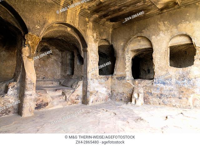 Uplistsikhe cave city known as Lord's fortress, Gori, Shida Kartli district, Georgia