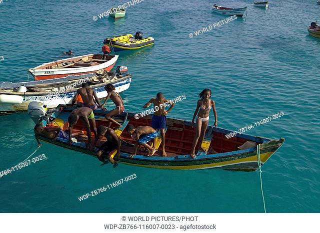 Santa Maria, Island of Sal, Cape Verde Islands Ref: ZB766-116007-0023 COMPULSORY CREDIT: World Pictures/Photoshot