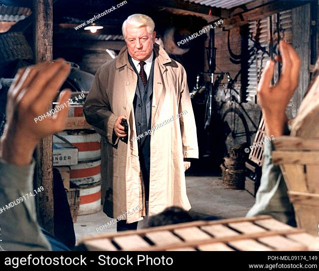 Le Pacha Pasha  Year: 1967  Director: Georges Lautner Jean Gabin Production Gaumont. It is forbidden to reproduce the photograph out of context of the promotion...