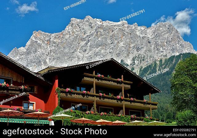 Wettersteingebirge, Zugspitzmassiv, Zugspitze, Ehrwald, Österreich