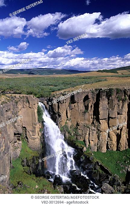 North Clear Creek Falls, Rio Grande National Forest, Silver Thread National Scenic Byway, Colorado
