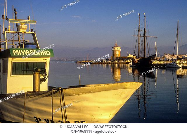 Port, Almerimar. Almeria province, Andalucia, Spain