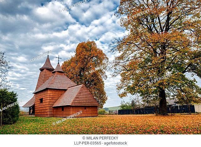 Church of St. Luke, Trocany, Slovakia