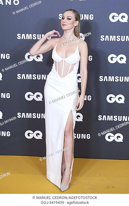 Ester Exposito attends GQ Men of the Year Awards 2019 at Palace Hotel on November 21, 2019 in Madrid, Spain