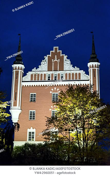 Admiralty House, island of Skeppsholmen, Stockholm, Sweden