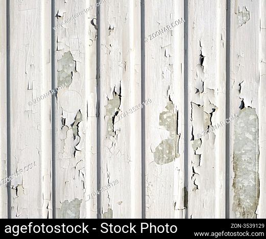 Texture of peeled wall