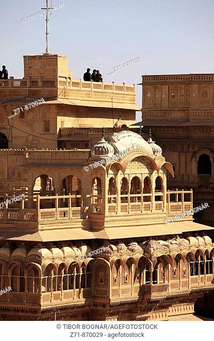 India, Rajasthan, Jaisalmer, Maharaja's Palace