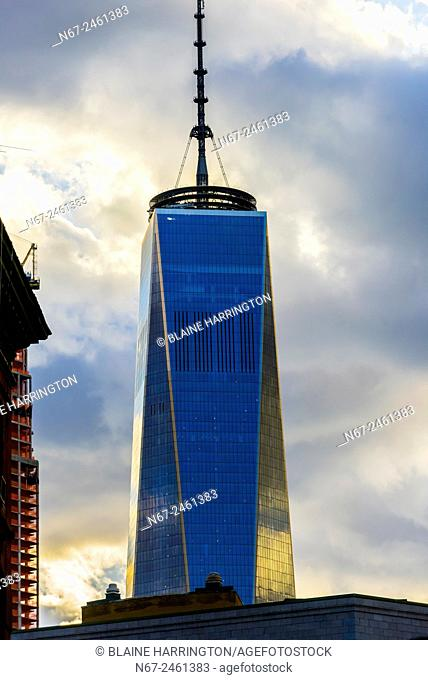 One World Trade Center (tallest skyscraper in the Western Hemisphere and fourth tallest in the world), New York, New York USA