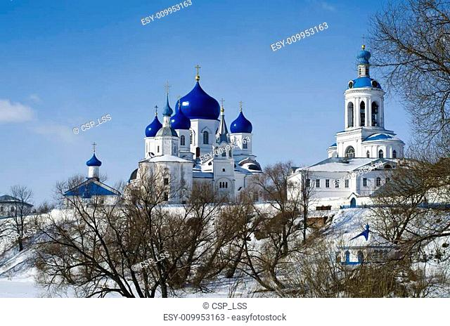Bogolyubsky in honor of the appearance of the icon Nativity of the Virgin Convent. village Bogolyubovo, Vladimir region, Russia