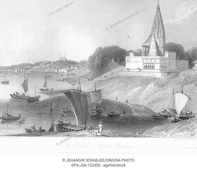 Bernar Pagoda ; Benares ; Varanasi ; Uttar Pradesh ; India