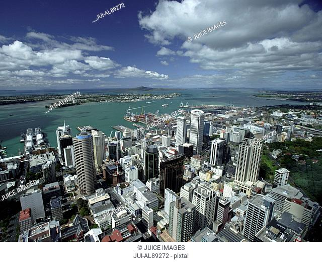 View from Sky Tower, Auckland, New Zealand