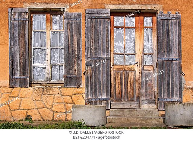 Farm house at Villefranche de Lonchat, Dordogne, Aquitaine, France