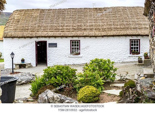 Glencolmcille Folk Village, county Donegal, Ireland, Europe