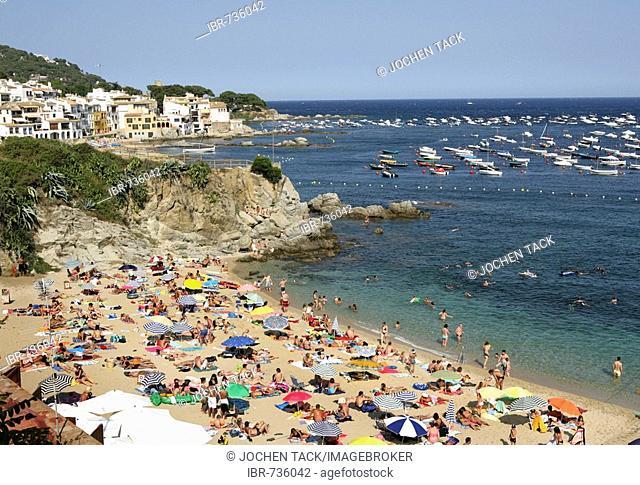 Calella de Palafrugell, coastal town on the Costa Blanca, Catalonia, Spain