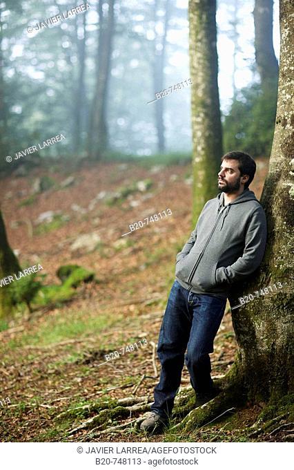 25 year old man. Belate, Baztan, Navarra