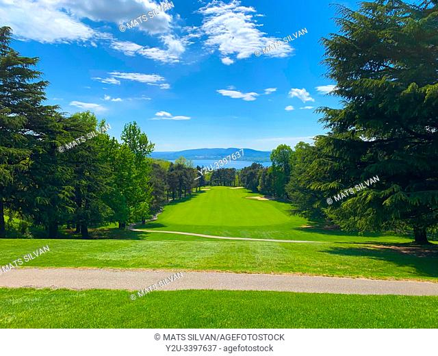 Golf Course Varese in Italy
