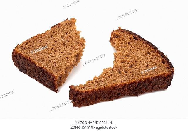 A piece of rye bread