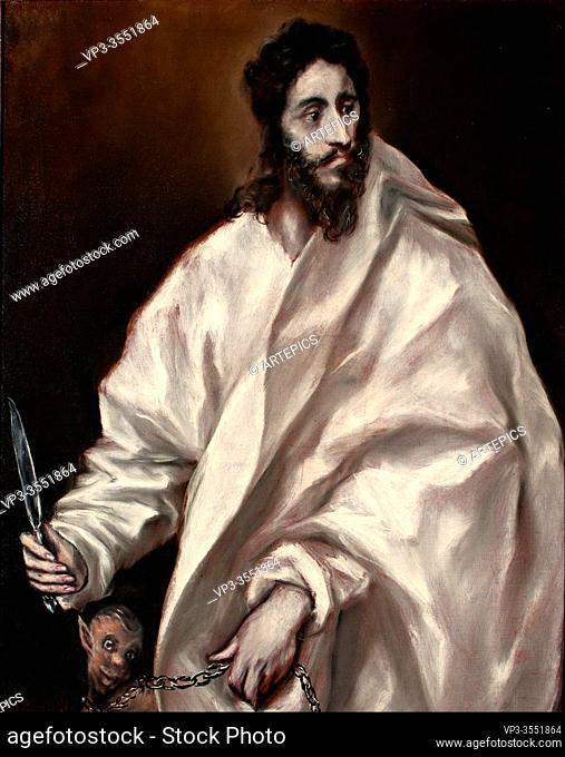 Domínikos Theotokópoulos - El Greco - Saint Bartholomew