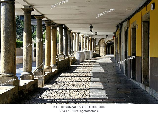 Aviles, Asturias, Spain Galiana street
