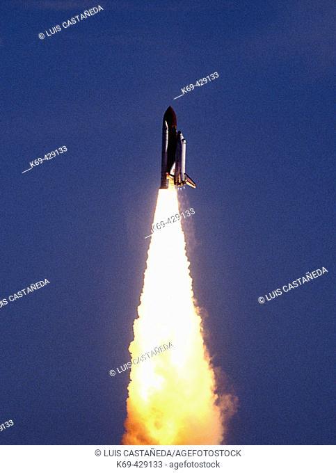 Space Shuttle Lift-off. KSC-NASA. Florida. USA