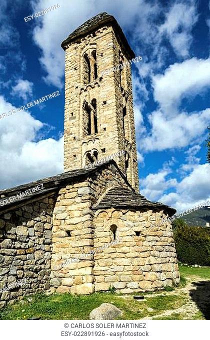 Romanesque church Sant Miquel d'Engolasters, Andorra