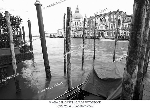 Venice, Veneto, Italy: Twilight of Grand Canal