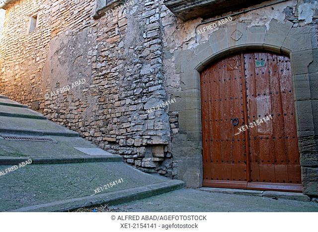 Street, Malgrat, La Segarra, Catalonia, Spain