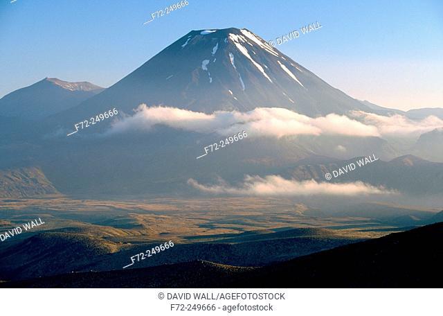 Mt. Ngauruhoe. Tongariro National Park, Central Plateau. North Island. New Zealand