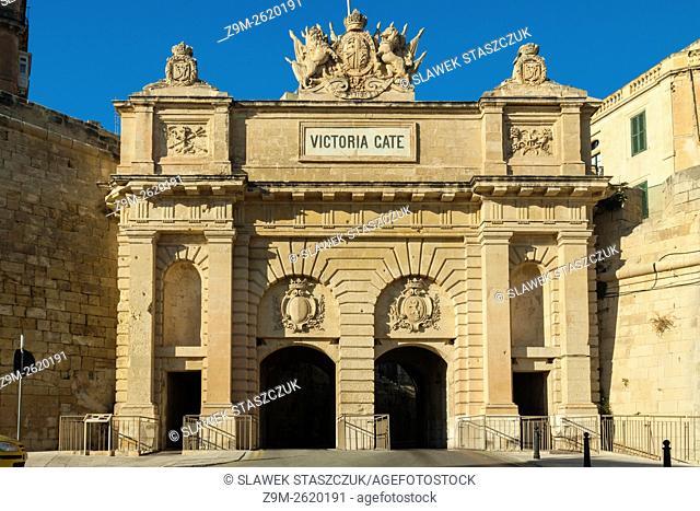 Victoria Gate in Valletta, Malta