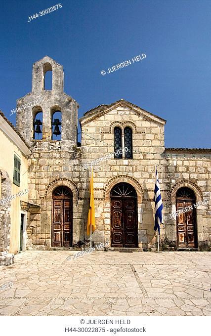 Agios Jason Sossipatros, archaeological, architecture, Architektur, byzantinisch, church, Corfu, culture, EU, Europa, Europaeische Union, europe, greece, greek