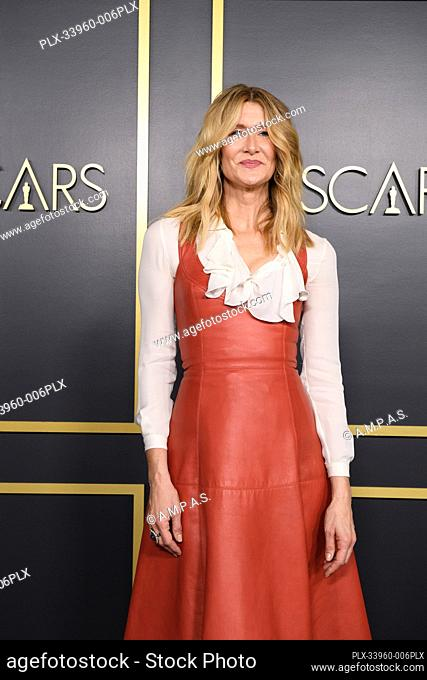 Oscar® nominee Laura Dern arrives at the Oscar Nominee Luncheon held at the Ray Dolby Ballroom, Monday, January 27, 2020