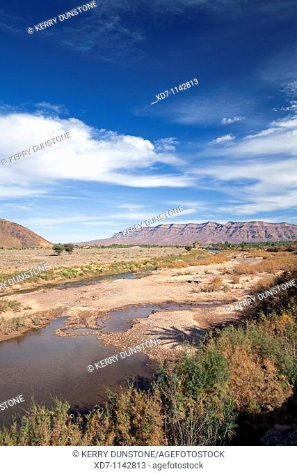 Morocco Draa Valley near Tansikht