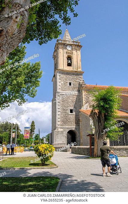 San Pedro church, XVIth to XVIIIth Centuries, Noja, Cantabric Sea, Mar Cantabrico, Cantabria, northern Spain