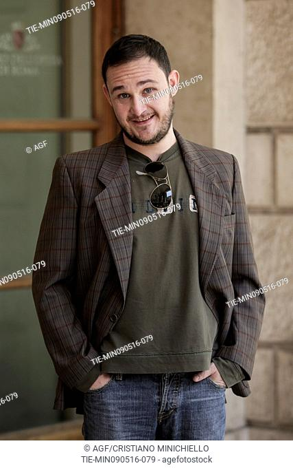 Luca Gallone attends the photocall of the fiction Gomorrah 2, Rome, Italy 09/05/2016