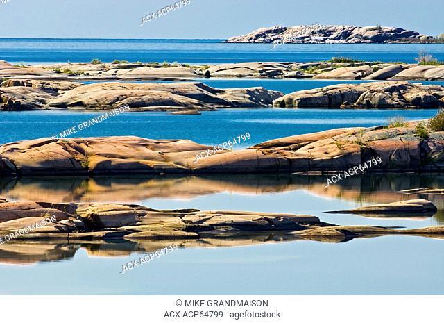 Islands in Georgian Bay, Killarney Provincial Park, Ontario, Canada