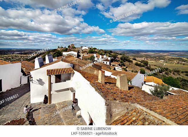 View over Monsaraz, Alentejo, Portugal